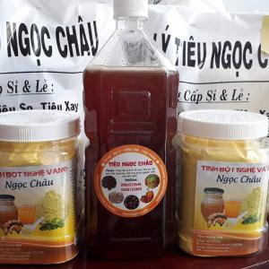 [Combo1] Tinh bột nghệ vàng mật ong hoa nhãn siêu tiết kiệm
